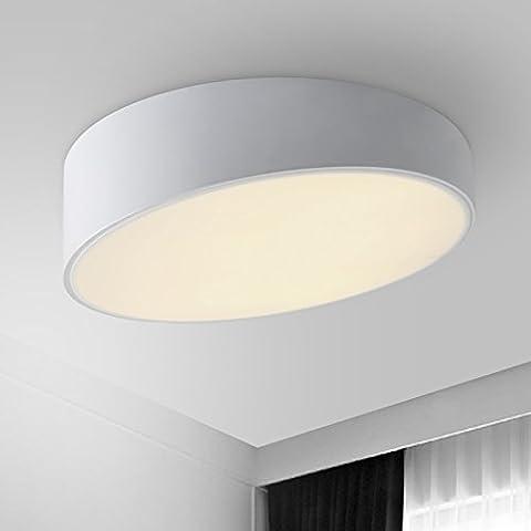 dybling Creative Wohnzimmer Schlafzimmer Einfache und moderne Esszimmer für Kinder Lampe LED Deckenleuchte Acryl Lampe leuchtet White box boxwhite 25cm