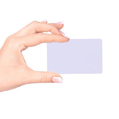 fongwah NTAG 213 RFID NFC Karte 20 x für sicheren Zahlungen,13.56mhz, Bank Card Standard Größe