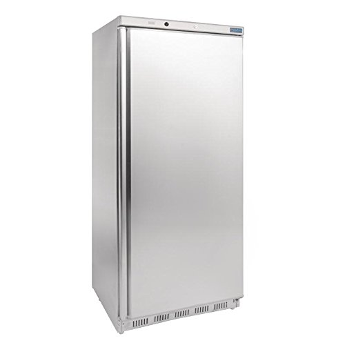 31EzFiDtESL. SS500  - Polar Freestanding Single Door Freezer 600 Ltr 1890X780X695mm Restaurant Catering Commercial
