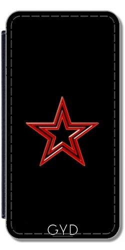 Coque pour Iphone SE - étoile Rouge by hera56 Simili-Cuir