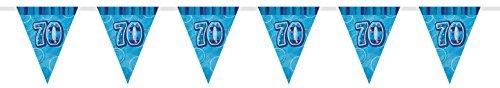 70. Geburtstag Wimpelkette Flaggen (Herr Der Ringe Party Supplies)