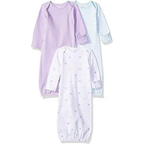 Amazon Essentials - Pack de 3 sacos de dormir de bebé para niña 11