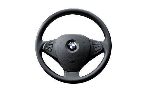 BMW Original Lenkrad Trim, Links schwarz (32303455489)