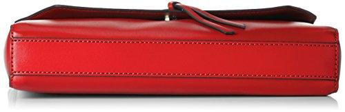 ESPRIT Damen 028ea1o037 Clutch, 5x15x27 cm Rot (Red)