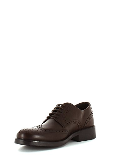 ENVAL , Chaussures de ville à lacets pour garçon Marron - Marrone