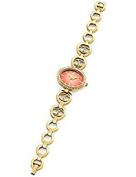 Just Cavalli Damen-Armbanduhr Analog Quarz Edelstahl beschichtet R7253214502
