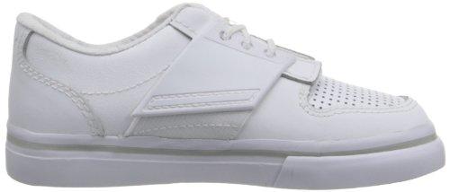 Puma , Baskets mode pour garçon blanc White/Gray Violet White/Gray Violet