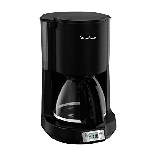 MOULINEX Cafetiere Principio Select Programmable Noire MATE 10/15 Tasses FG273N10 Cafetière Filtre - Machine à Café - Cafetière Électrique- Cafetière - Machine café