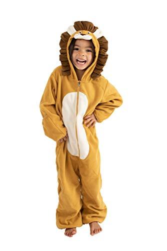 3 6 Monate Baby Kostüm Bis - Cuddle Club Fleece-Wimpelkette für Neugeborene bis 4T - Baby Pyjama Winterjacke Oberbekleidung Mantel Kleinkind Kostüm - Braun - 3-6 Monate