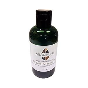 Natural Shaving Oil Cedarwood Sandalwood Patchouli & Lemon 125ml
