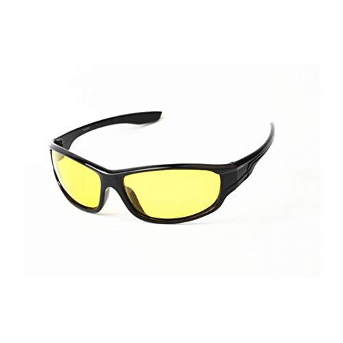 GJYANJING Sonnenbrille Neue Polarisierte Sonnenbrille Männer Top Qualität Männliche Sonnenbrille Uv400 Outdoor Sports Eyewear Nachtsichtgeräte