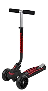 Saica Patinete 3 Ruedas Ryder Monster, Color Negro (1)