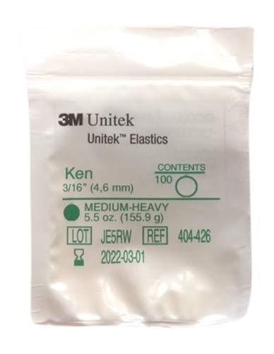 3M Unitek, Mehrzweck-Gummibänder Medium-Heavy 5,5oz, 155,9g ((3/16