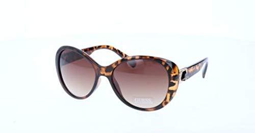Guess Damen Gu7313 S57-57-17-140 Sonnenbrille, Braun, 57