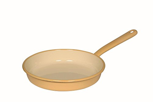 Riess 0291-006 Classic - Household Articles Colour/Pastel Omelette Pan, Diameter-22 cm Blue and Yellow