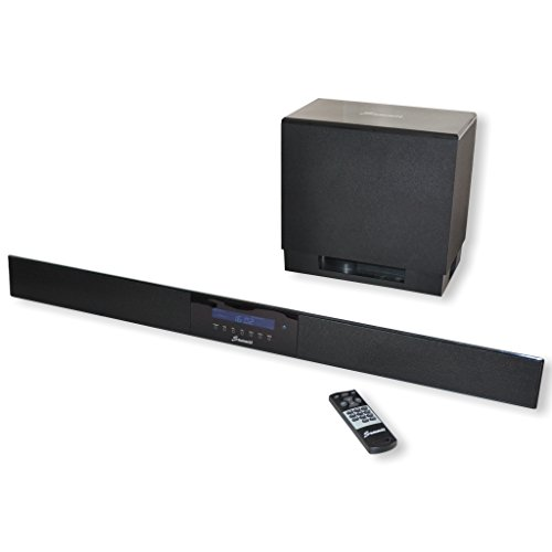 Summit Soundbar A50-1000 - High End Yamaha Digital-Sound-Prozessor 5.1 - 140W (Wireless Subwoofer, Fernbedienung, Bluetooth)
