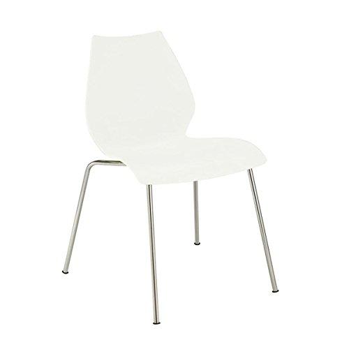 Kartell MAUI chaise lot de 2, blanc