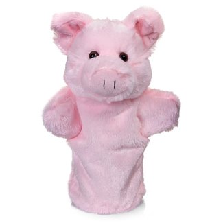 Granja de animales marioneta de mano - cerdo por Tobar