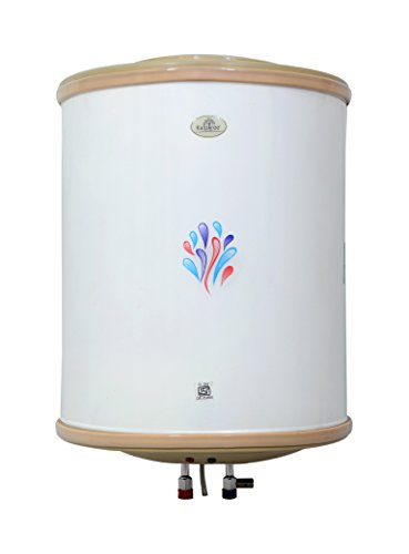 Kalptree - Shells 50-liters - Electric Water Heater/Geyser with Auto Power Cut-Off, All India Service (2 Years Warranty)