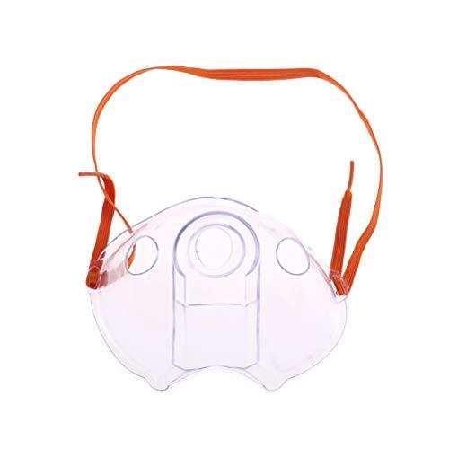 1pc erwachsene Aerosol-Zerstäuber-Masken-Orange für medizinisches und Zuhause - Nebulizer Aerosol Maske