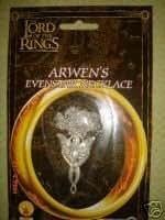 Accessoire Officiel Le Seigneur des Anneaux (Lord of the Rings) Arwen - Pendentif métallique Evenstar & Chaîne