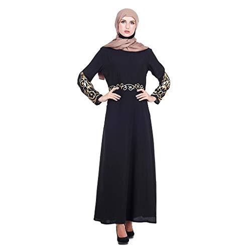 1b0f7ea2ae JERFER Vestidos de Mujer 2023 Abaya Dubai Ramadan Caftan Moroccan Vestido  Musulmán Turco