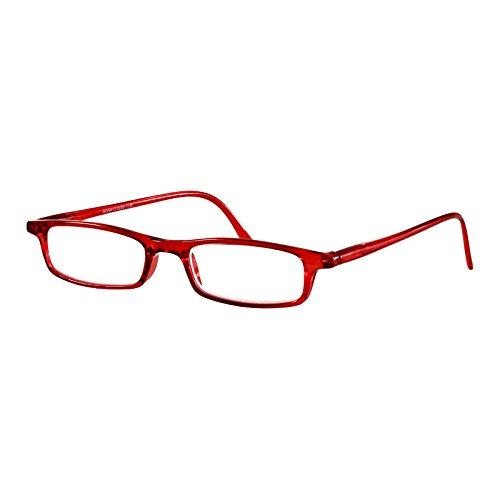 I NEED YOU Lesebrille Adam / +3.25 Dioptrien / Rot