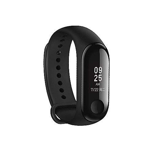 Preisvergleich Produktbild Xiaomi Mi Band 3 - Activity tracker mit Herzfrequenzmessung [EU Version],  0.78'' full OLED Touchscreen,  Benachrichtigungen in Echtzeit,  wasserdicht 50m,  Schrittzähler,  Kalorienzähler,  Schlafanalyse