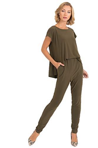 Joseph Ribkoff Safari Green Jumpsuit Style - 193052 Fall 2019 Hot Styles