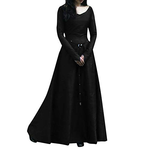 Beste Halloween Kleid - bestshope Damen langes Kleid, Frauen Plus