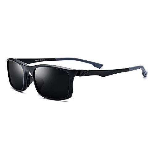 Unisex grau Objektiv UV400 Schutz TR90 Sportbrillen Outdoor Fahrrad Fahren polarisierte Sonnenbrille Brille (Farbe : Gray)