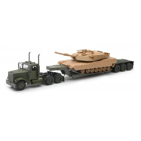 ightliner with Tank M1A1 Collection im Maßstab 1:58, 810375, grün ()