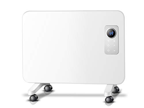 PURLINE Radiador de Aluminio con Control WiFi por App Pared o Suelo Apto para baño Smart WiFi RAD