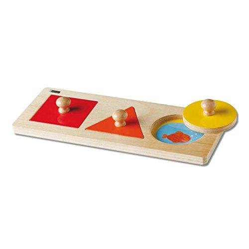 Wiemann Lehrmittel Formenpuzzle - Holz-puzzle Kreis
