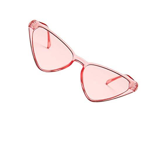 Deinbe Unisex Triangular Sonnenbrille Frauen Männer Mädchen Männliche Persönlichkeit Brillen Triangular Brillen -