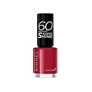 Rimmel London 60 Seconds Super Shine 710-Oh My Cherry – 1 Unidad