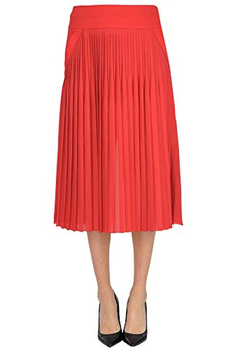 Givenchy Pleated midi Skirt Woman Red 38 FR