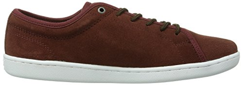 Quiksilver Cove Suede, Baskets mode homme Rouge (D/White/)
