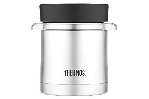 Thermos 125205 Premium Porte-Aliments à Boite Micro-Onde Inox Gris