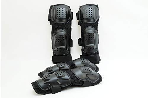 Fincci, protezione per gomiti e ginocchia, per sport all'aperto, moto, motocross, bicicletta, skate