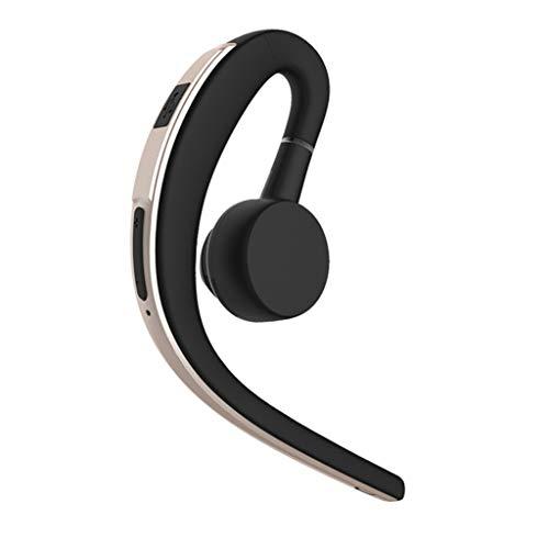 Bluetooth Wireless Headset Stereo Kopfhörer Kopfhörer Sport Freisprecheinrichtung Universal (Gold)