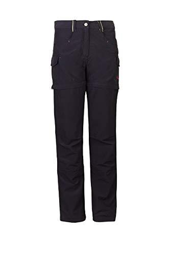 Cotton Zip-off-hose (Killtec Mädchen Maci Jr Casual Hose Mit Abzippbaren Beinen, dunkelnavy, 152)