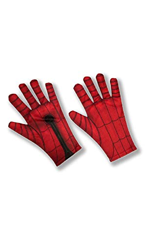 Boy Kostüm Spider - Rubie´s 200299NS Handschuhe, Boys, Mehrfarbig