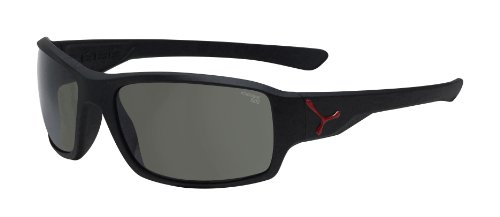 Cébé Sonnenbrille, Haka Matt Black Red 1500 Grey, M