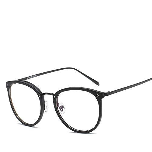 XCYQ Brillengestell Frauen Ultraleichte Brillengestell Brillen Vintage Eyewear Spectacle Frame, B