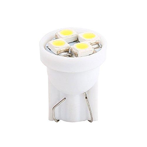 VGEBY-Lampadina-LED-Night-Light-Eclairege-Interni-Luce-Bianco-4-SMD-1210-LED-Lampeggiante-12V-T10-W5W-100-Pz