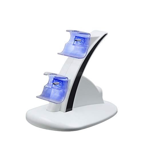 Xbox One LED-Licht Dual-Controller-Ladegerät Dock-Halter-Spiel-Konsole Gamepad Schnellladestation Ständer ()