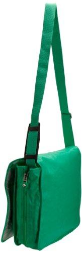 Kipling Madhouse, Borsa a spalla donna Verde (Grün (Vert pistache laque))