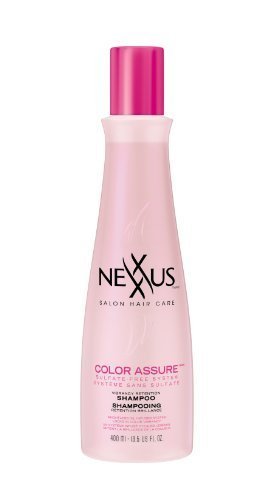 Nexxus Color Assure Radiant Color Care Shampoo, 13.5 Ounce Bottle by Nexxus (English Manual)