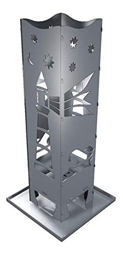 Feuersäule Stahl Leuchtturm Made in Germany